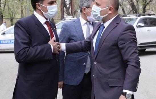 Vali Dr. Osman Varol'dan Birliğimize Ziyaret